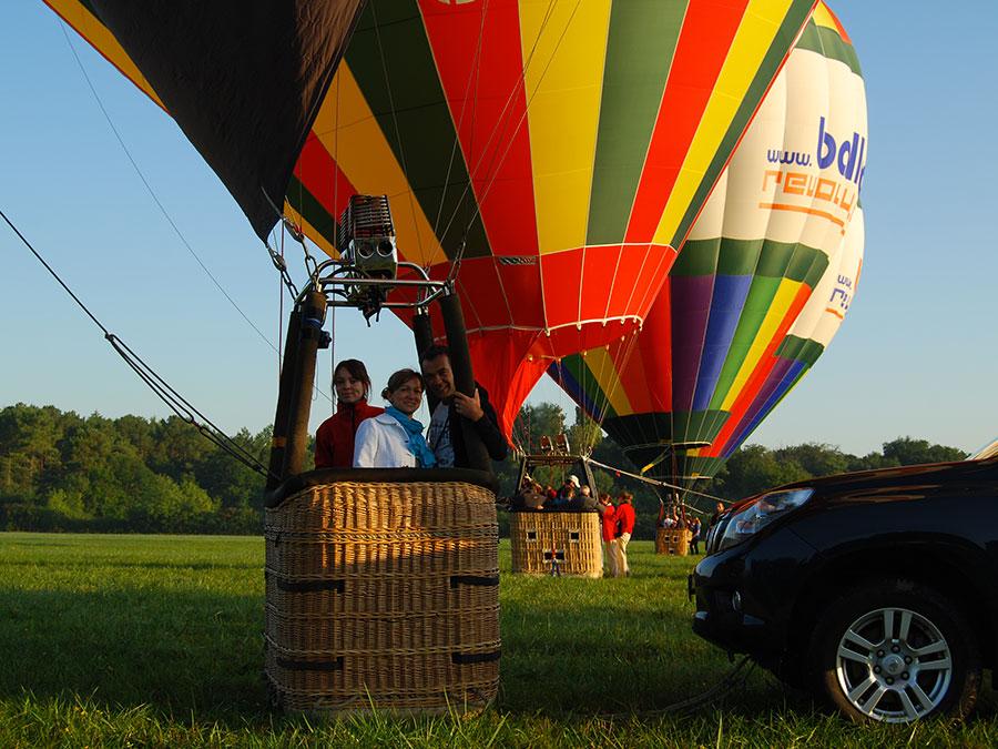 Billet semaine vol en montgolfiere