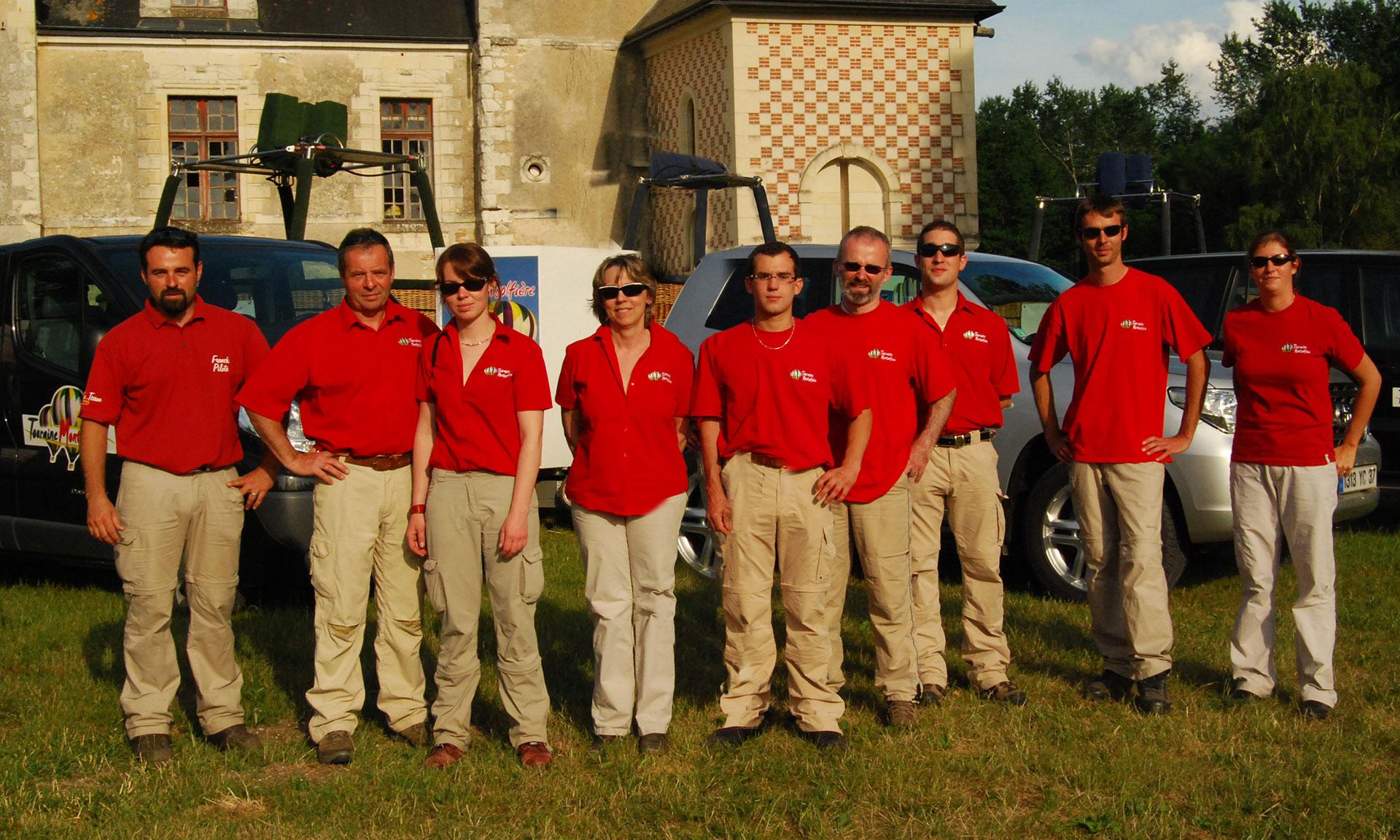equipe touraine montgolfière