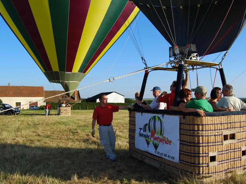 sécurite en montgolfiere