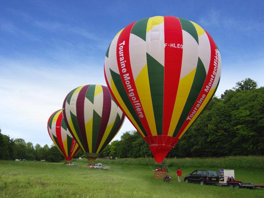 Vol en montgolfiere châteaux de la Loire