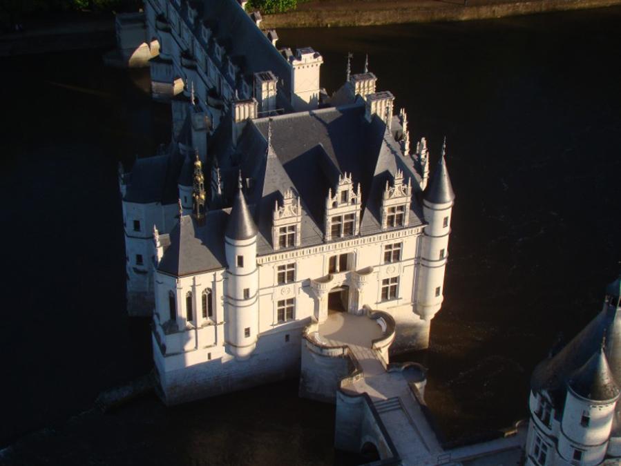 Montgolfière, Chateau d'Amboise