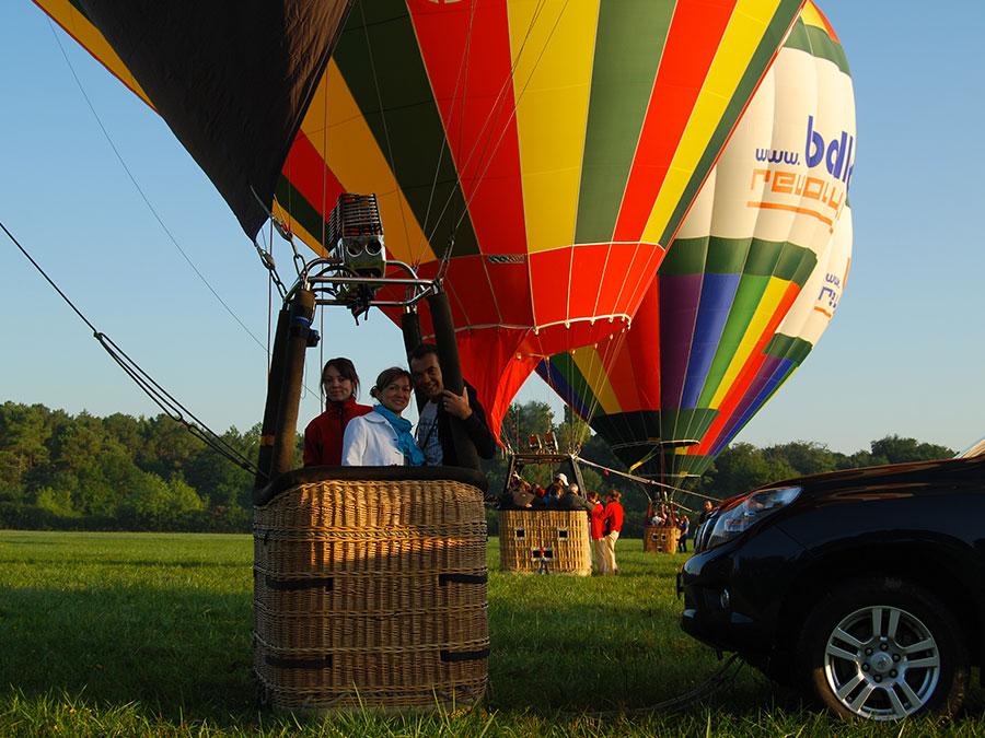 Vol montgolfière en Touraine
